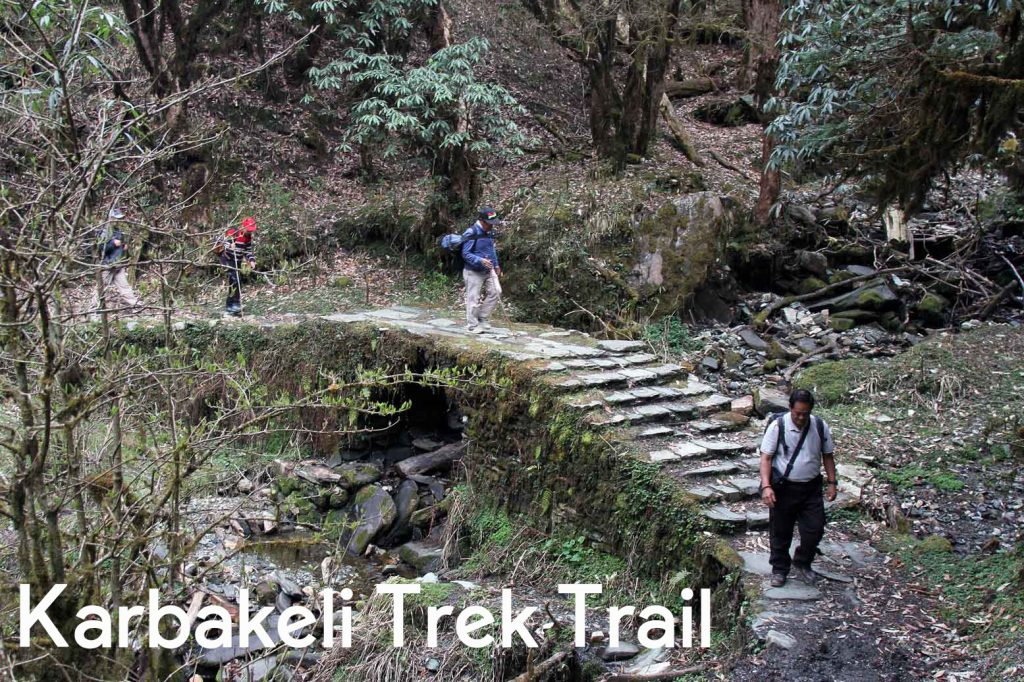 karbakeli trek route