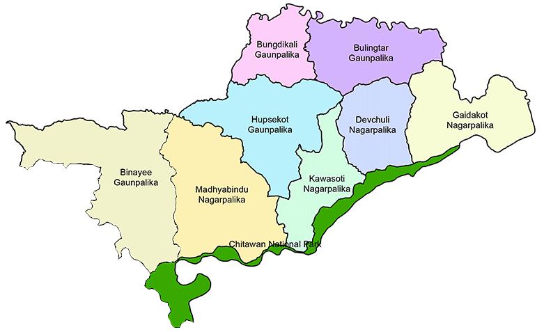 Nawalpur District Map