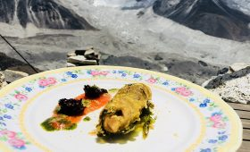Restaurant at highest altitude